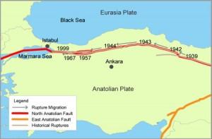 IstanbulEarthquakeRegionalmap