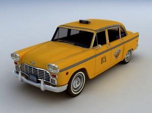 NYC Checker Cab